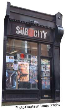Sub City Relaunch Zine
